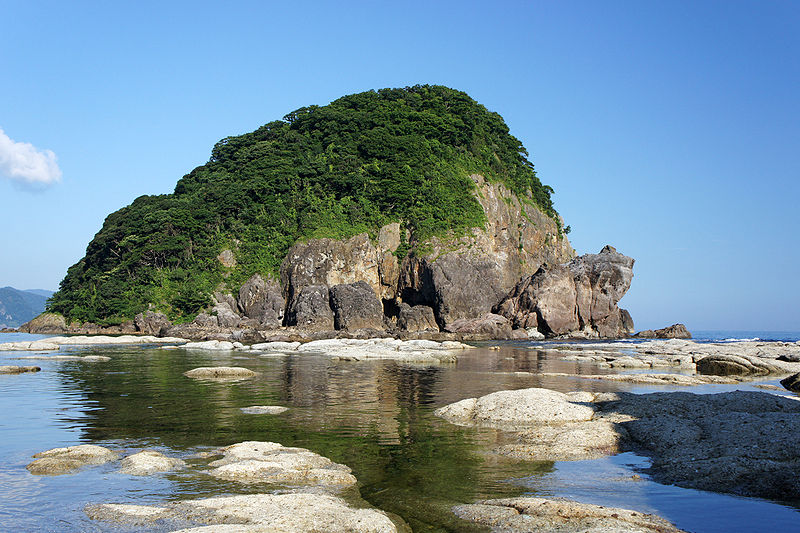 Imagoura of Kasumi Coast in Kami, Hyogo prefecture, Japan