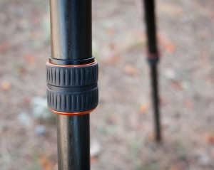A tripod with twist locks is convenient and fast to unfold