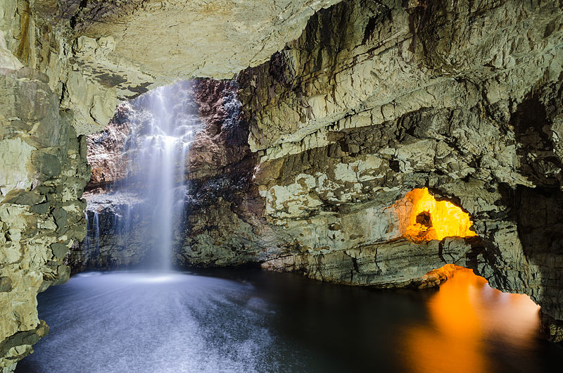 Smoo_Cave-Second_Chamber