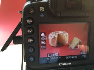 Cheese shooting - 2 - Live view