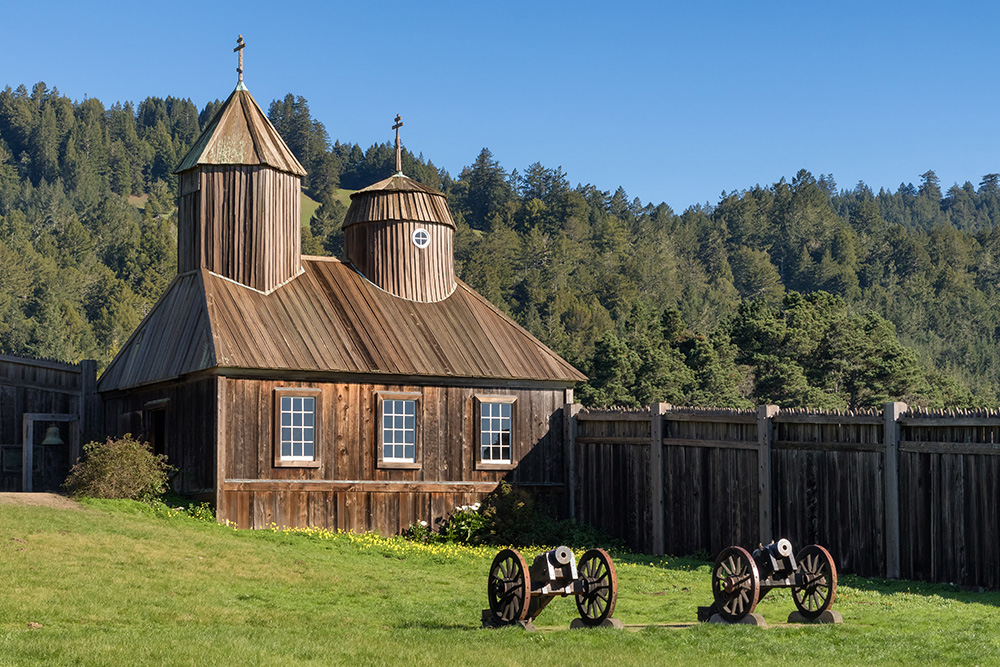 Russian chapel at Fort Ross